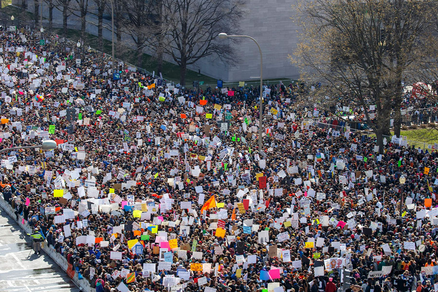 20+ Powerful Images From The Huge Gun-Control Rallies In The Us