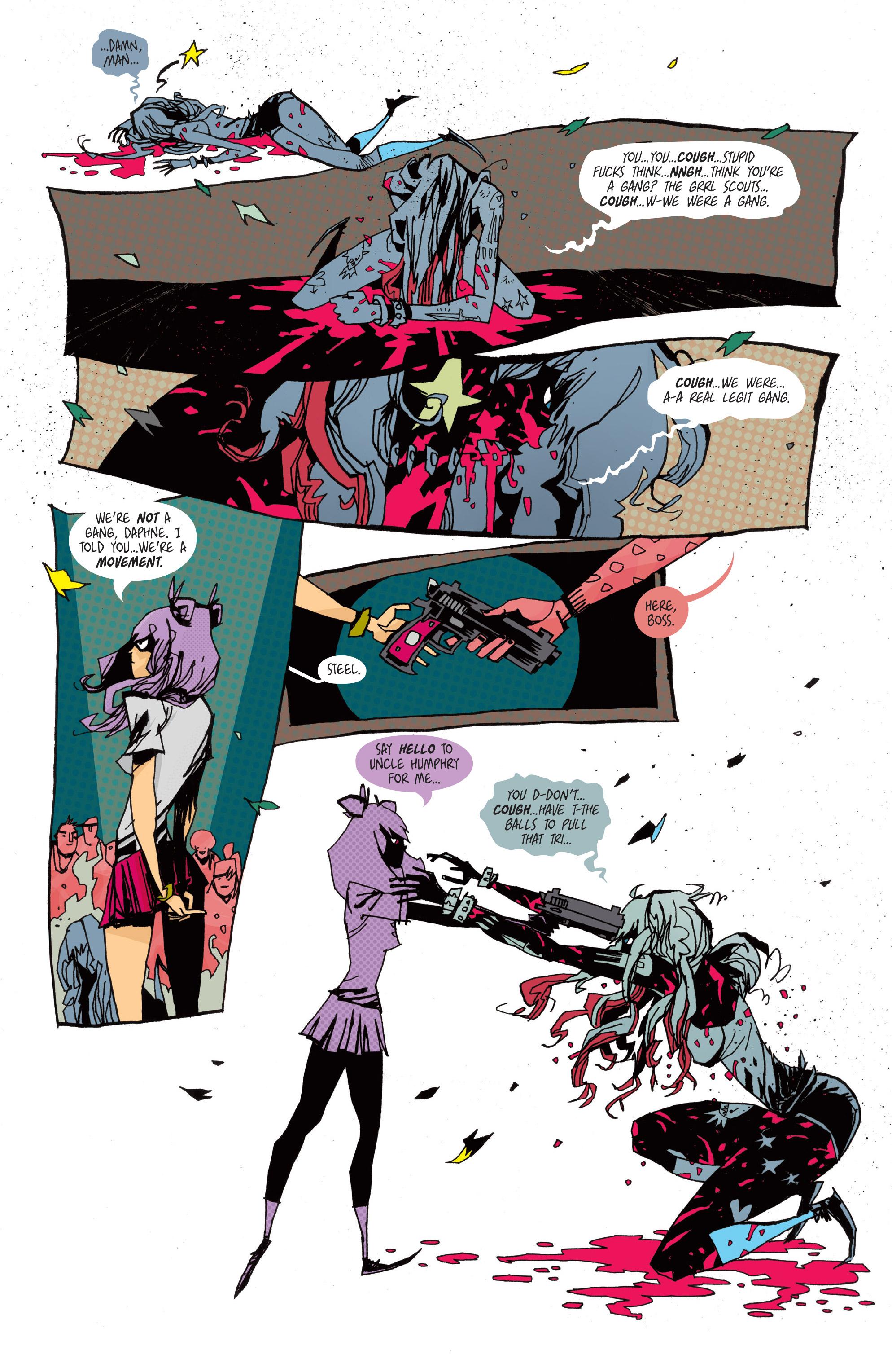 Read online Grrl Scouts: Magic Socks comic -  Issue #2 - 23