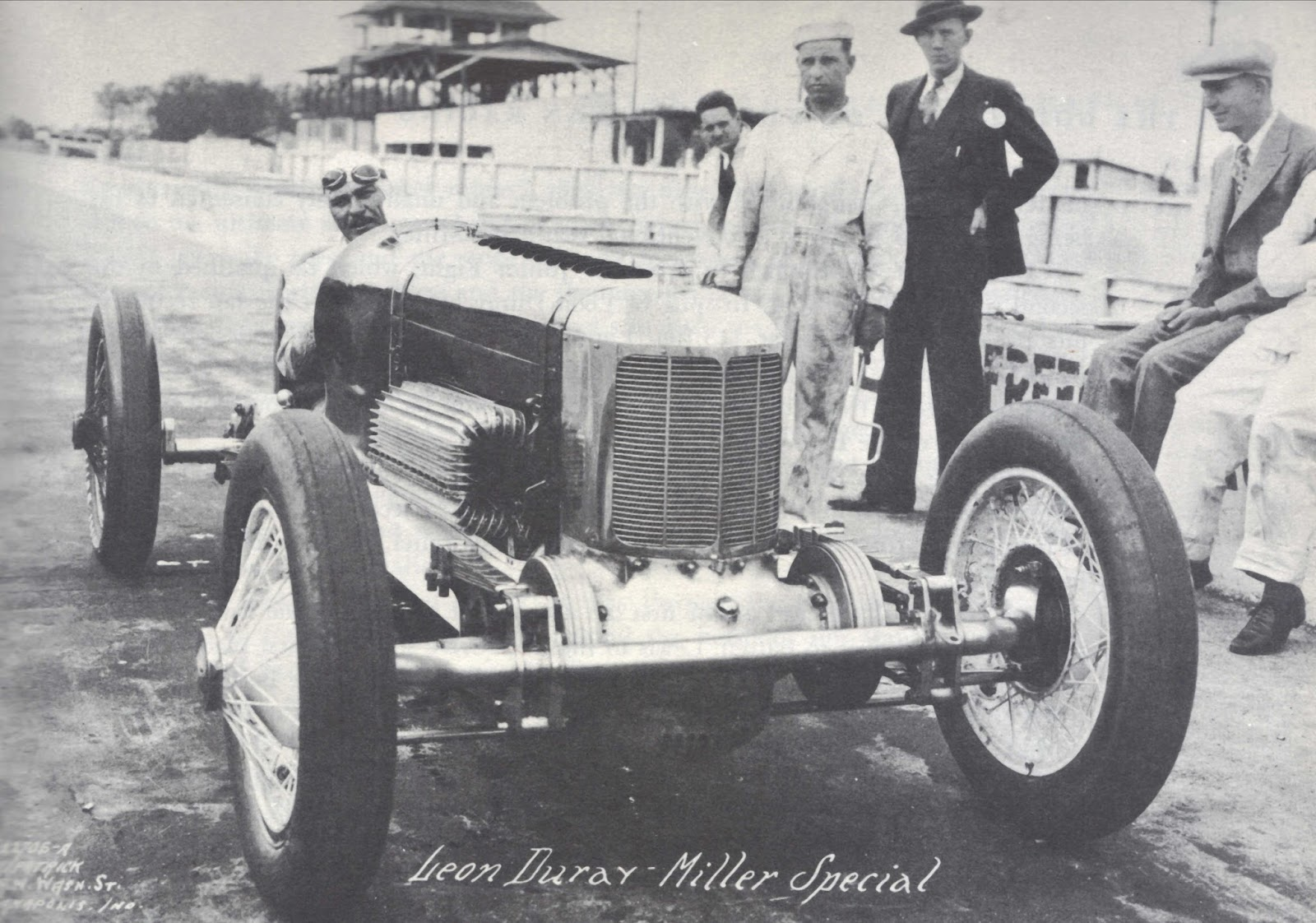 Progress is fine, but it\'s gone on for too long.: 1927 Miller race car