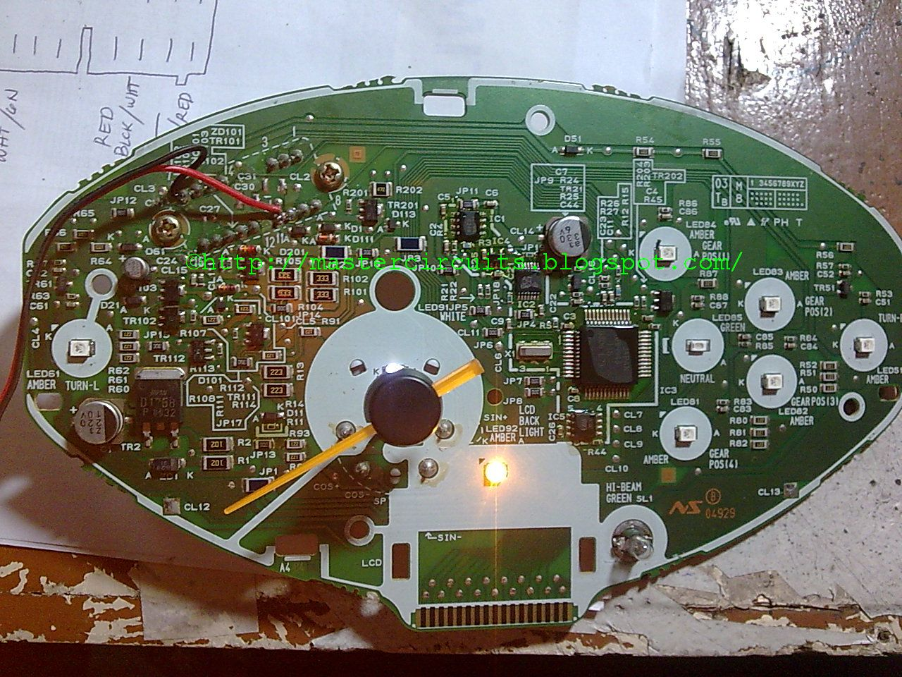 Wave 125 S Panel Repair