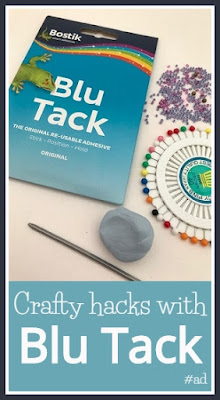 Crafty hacks using Blu Tack