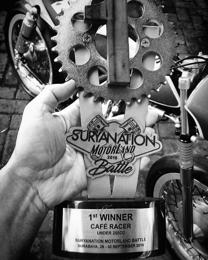 Juara Suryanation Motorland Suzuki A100 Cafe Racer