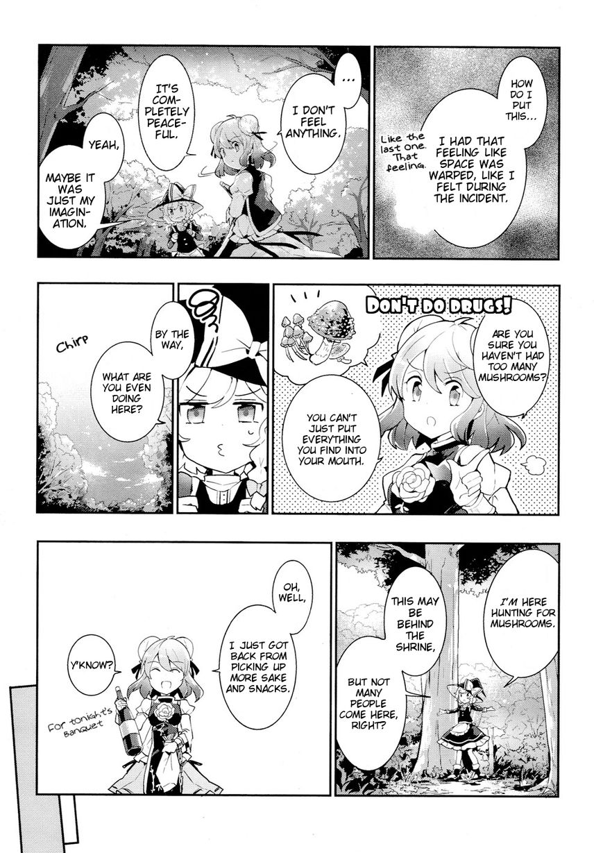 Touhou Ibarakasen - Wild and Horned Hermit - Chapter 34