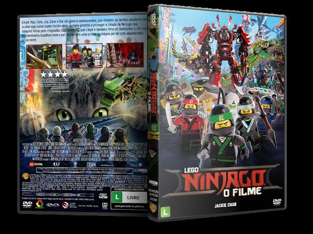 Capa DVD LEGO Ninjago: O Filme