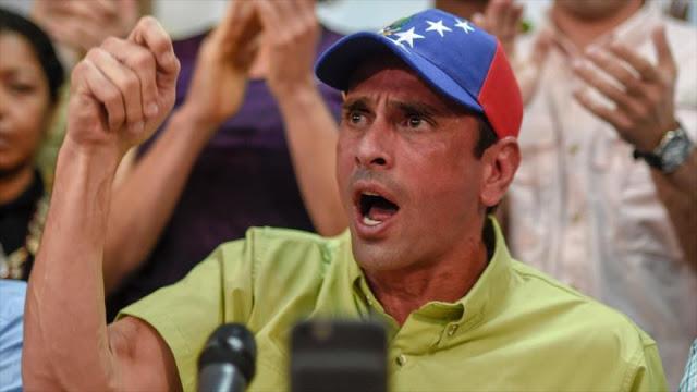 Capriles: El pueblo saldrá a la calle si el Tribunal Supremo de Justicia obstaculiza el revocatorio