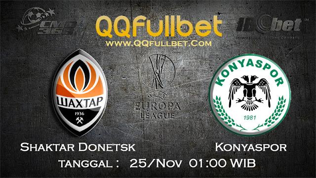 PREDIKSIBOLA - Prediksi Taruhan Bola Shaktar Donetsk vs Konyaspor 25 November 2016 (UEFA Europa League)
