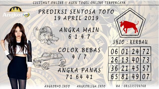 Prediksi Angka Jitu SENTOSA TOTO 19 APRIL 2019