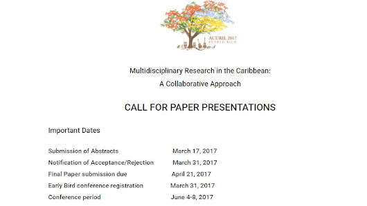 ACURIL - Call for Papers