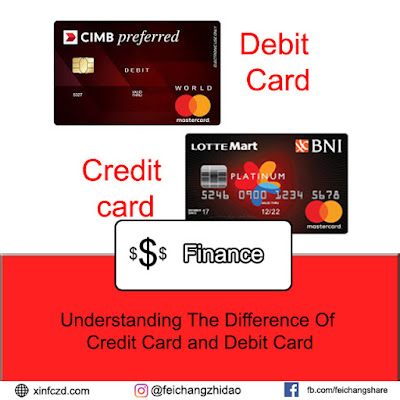 Understanding The Difference Of Credit Card and Debit Card