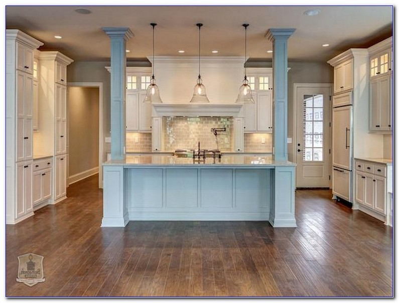 Kitchen Island With Columns Kitchencabinetsdesignideas
