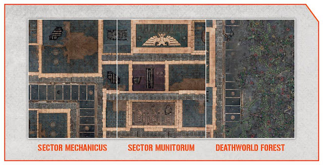 Sector Mechanicus- Sector Munitorum - Deathworld Forest