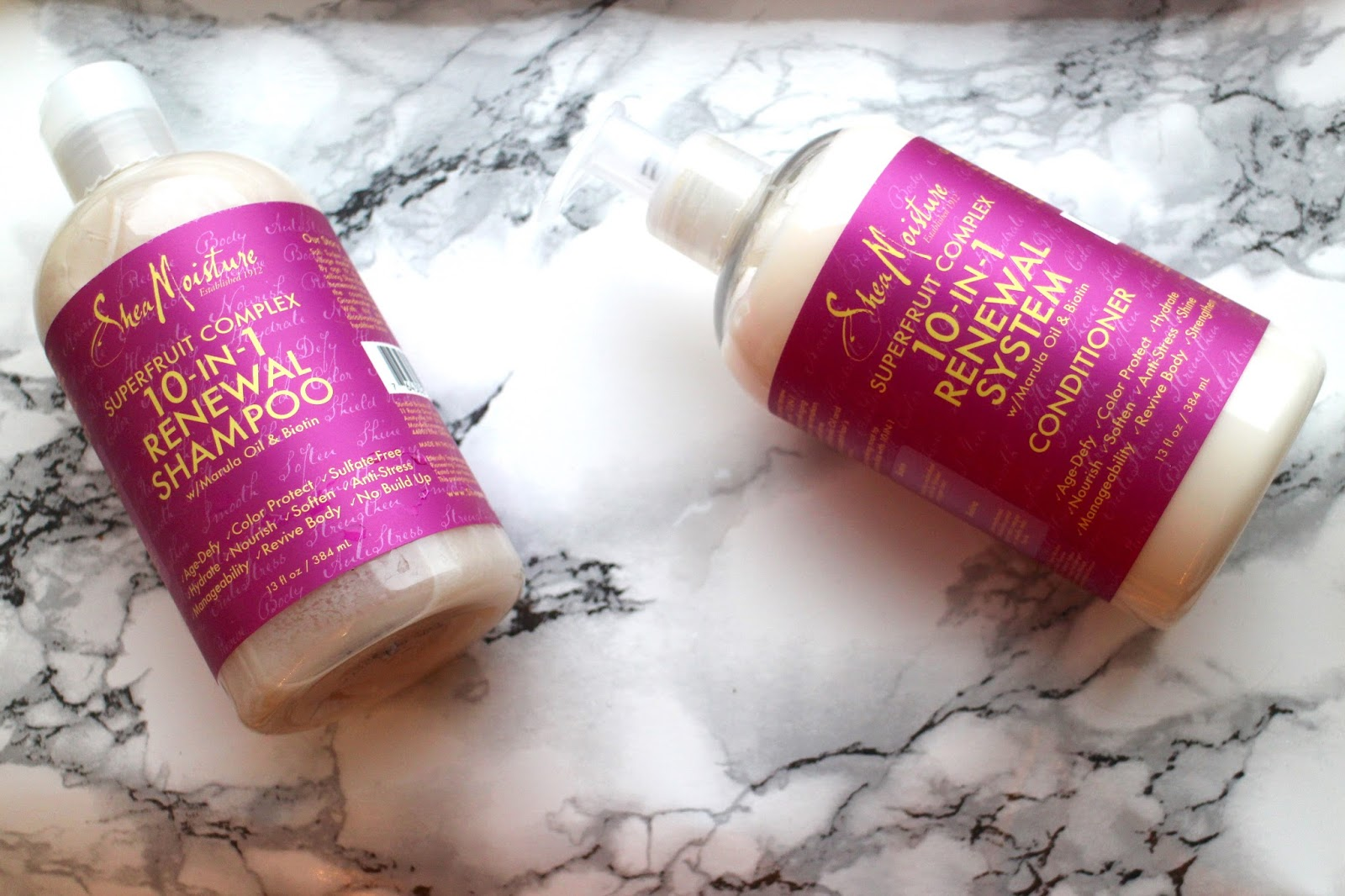 shea moisture shampoo and conditioner review