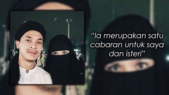 Zahiril Adzim dan Isteri Berhempas Pulas Bawa Anak Naik ke Gua Hiraq