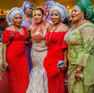 Igbo Traditional Wedding Attire,,,Glamorous Igbo Traditional Wedding ...