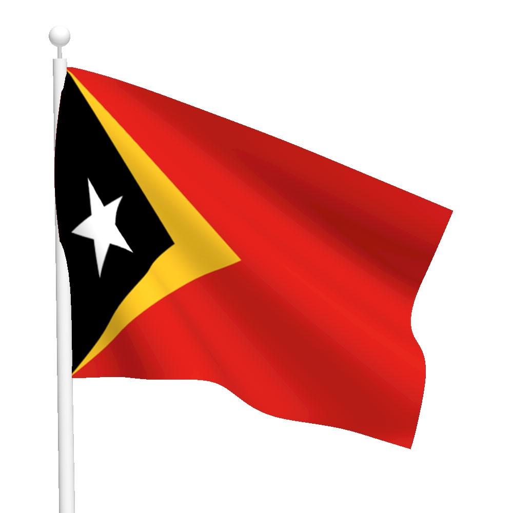 Timor Leste Flag Image