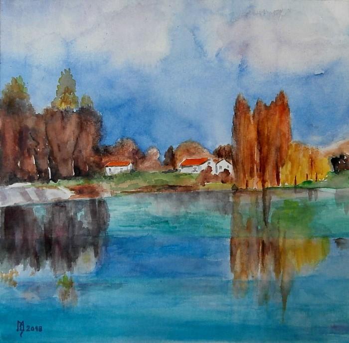 Сербский художник. Zoran Mihajlovic Muza 3