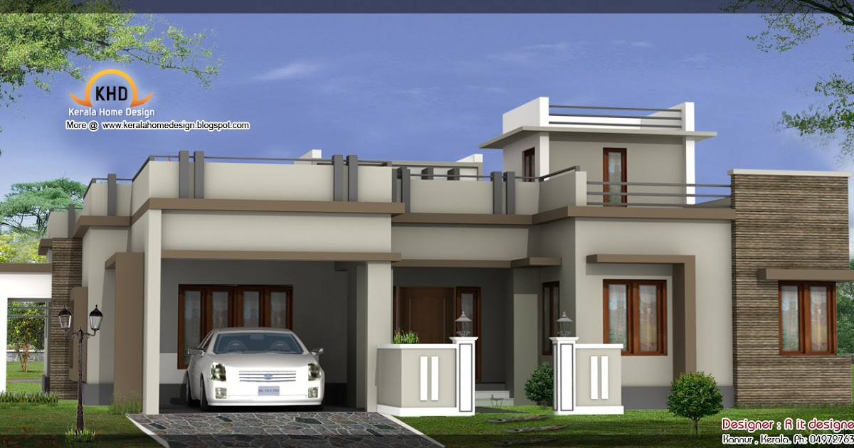 3 beautiful home elevations kerala home design and floor - Total 3d home and landscape design suite ...