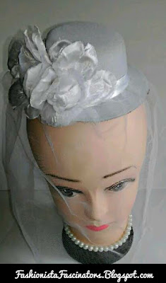 White weddings fascinators in Kenya