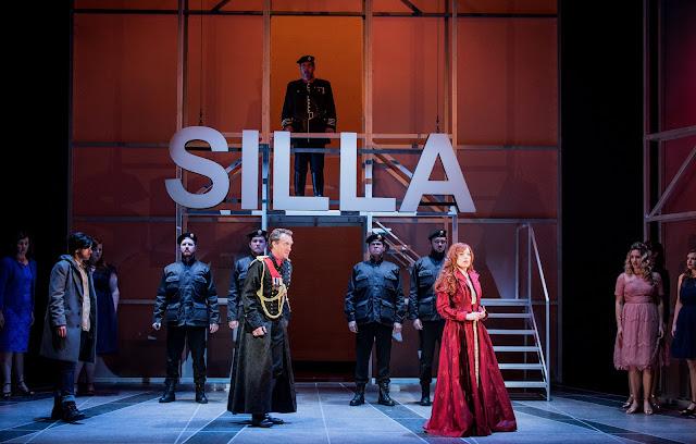 Mozart: Lucio Silla - Buxton Festival - Madeleine Pierard, Joshua Ellicott, Rebecca Bottone, Ben Thapa (Photo Robert Workman)