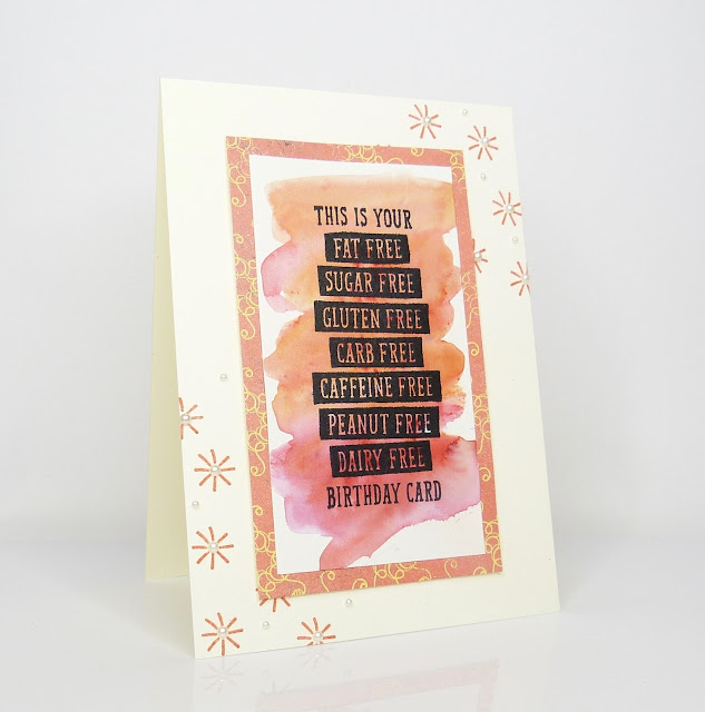 Geburtstagskarte mit Birthday Wit von Stampin Up