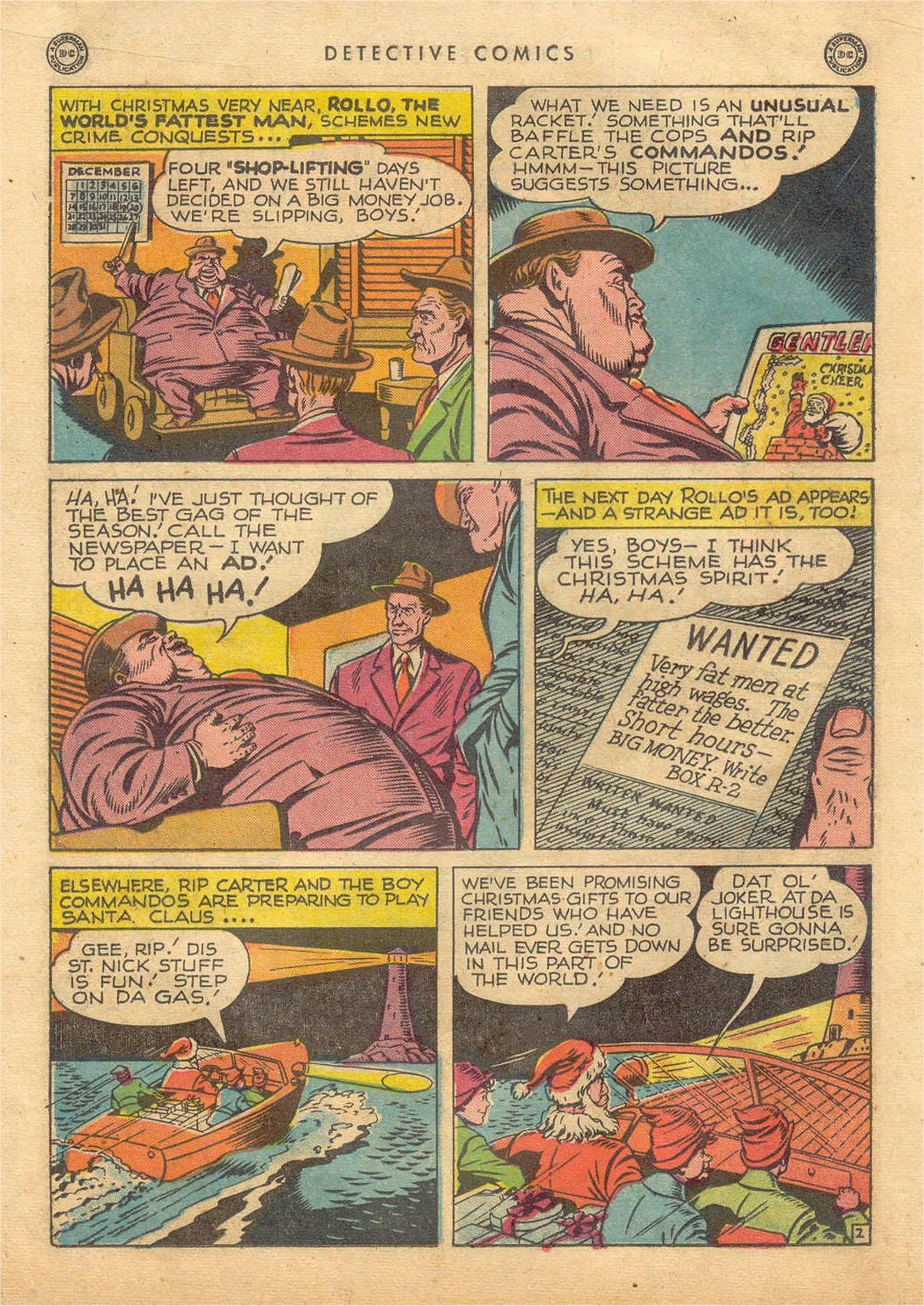 Read online Detective Comics (1937) comic -  Issue #132 - 38