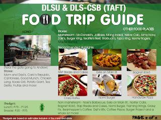 Food Trip Guide for Restaurants around DLSU 2