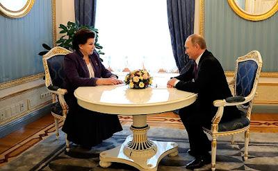 Russian President, Valentina Tereshkova.