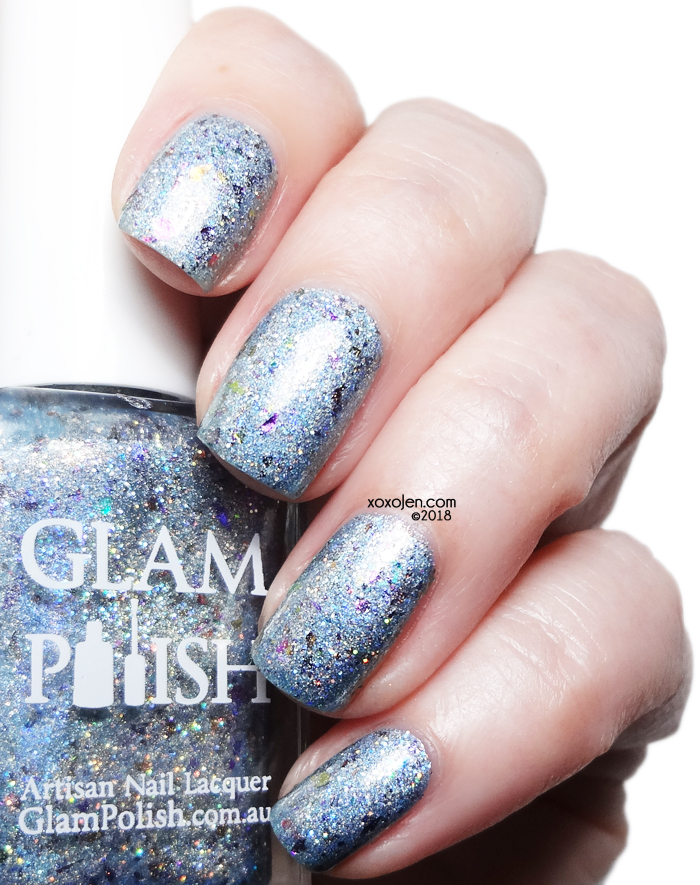xoxoJen's swatch of Glam Polish We're Simply Meant To Be.