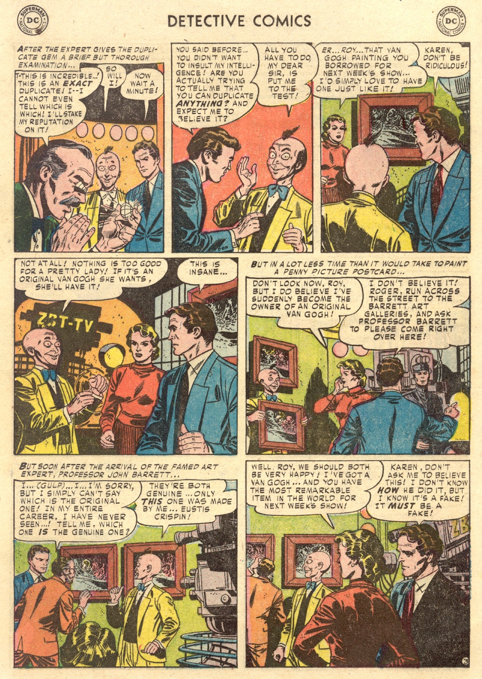 Read online Detective Comics (1937) comic -  Issue #186 - 19