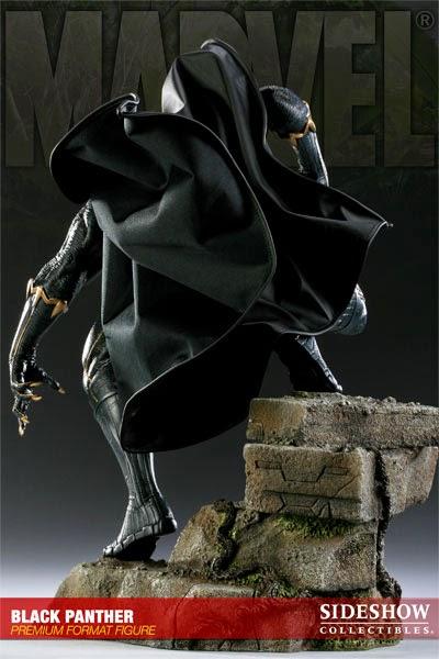 Estátua Pantera Negra Sideshow Collectibles