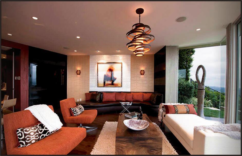 Model Lampu Hias Gantung Ruang Tamu Minimalis Rumah