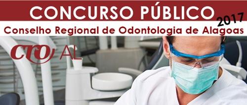 concurso CRO Alagoas 2017