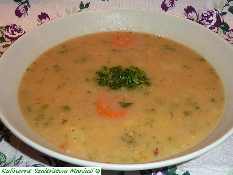 Zupa Grochowa Kulinarna Maniusia Blog Kulinarny Przepisy Kulinarne