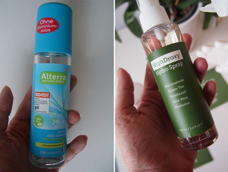 Wirksame Kosmetiktipps: Alufreies Deo und Hydro Spray von HighDroxy