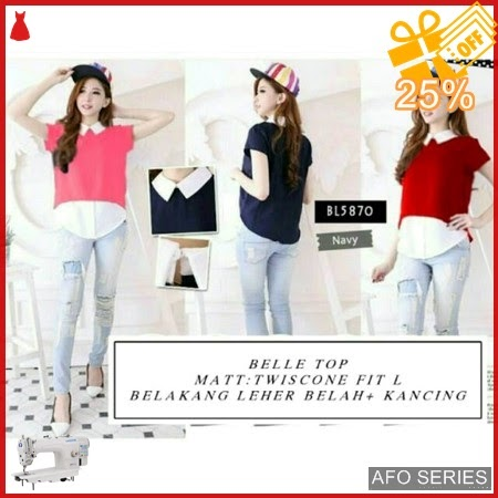 AFO233 Model Fashion Belle Top Modis Murah BMGShop