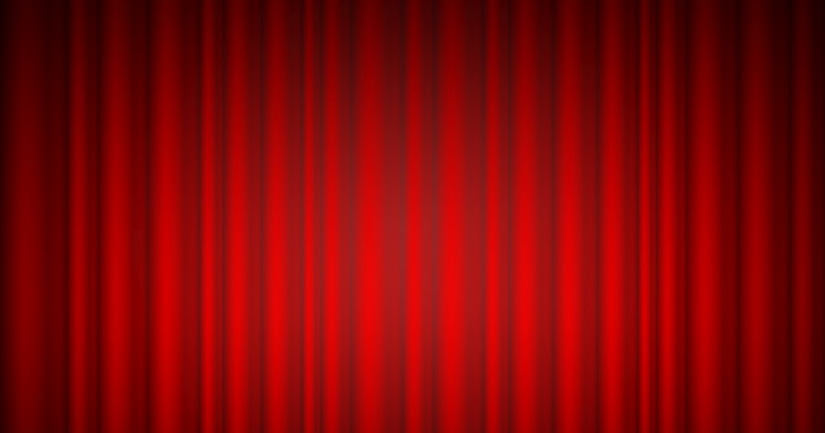 Free Psd Store Red Curtain Background