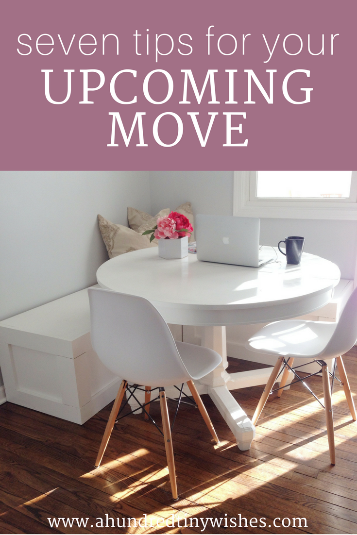 moving tips, blogger, tips for moving