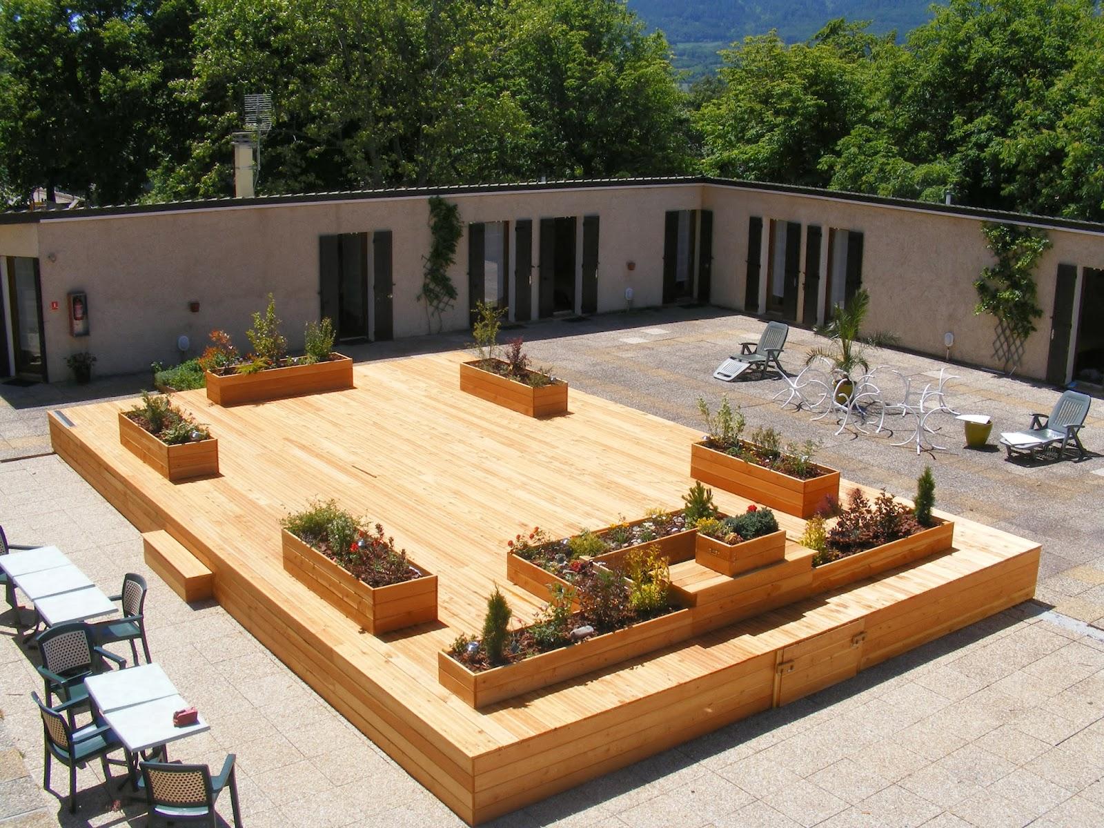 nature et paysage terrasses et pergolas. Black Bedroom Furniture Sets. Home Design Ideas