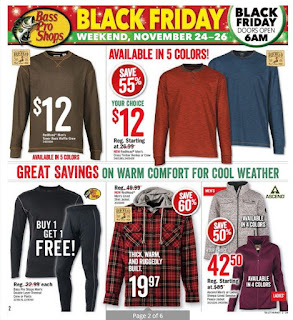 Bass pro shops flyer this week November 24 - 26, 2017