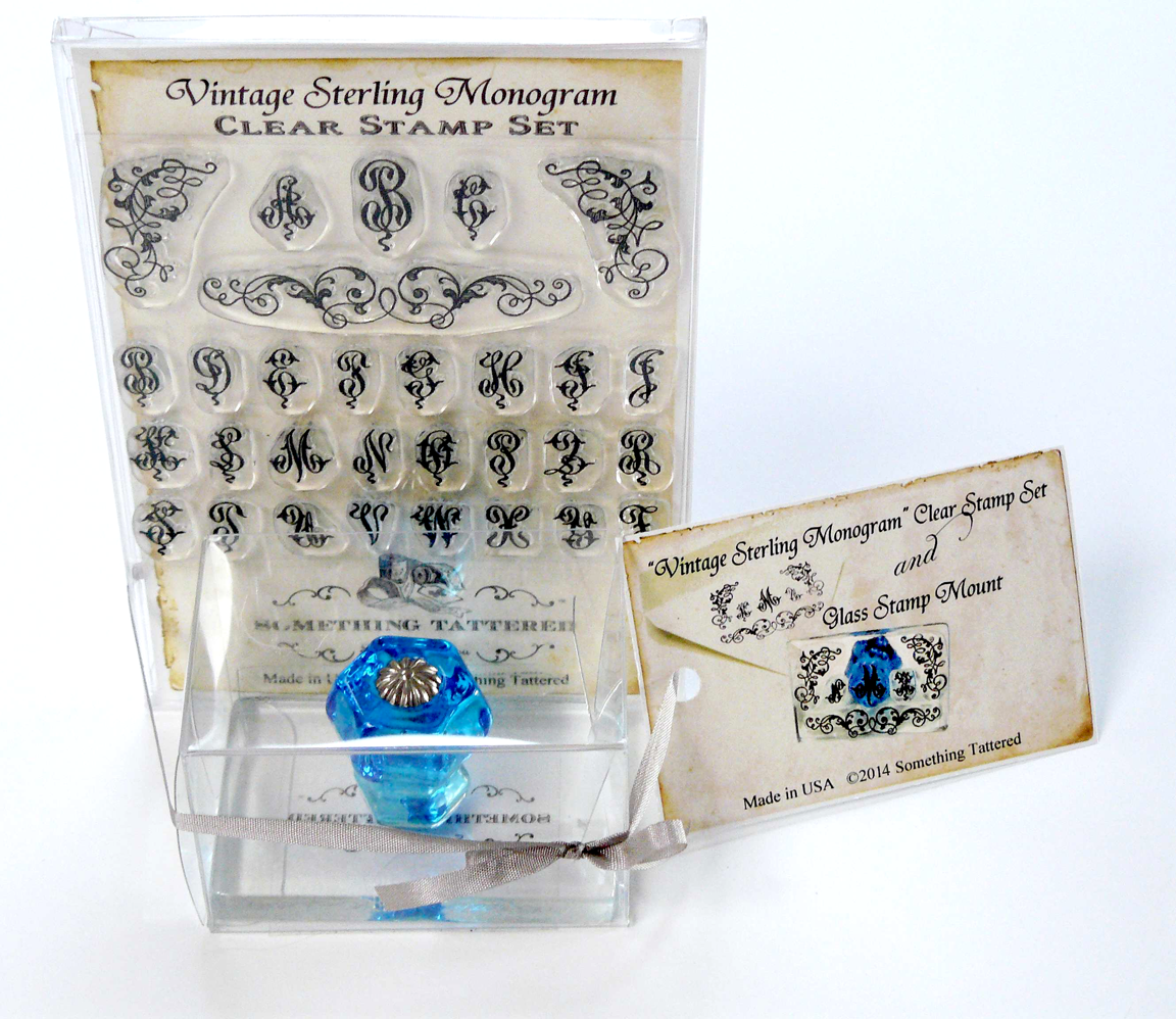 http://stamps.somethingtattered.com/product/monogram-stamp-set-with-clear-glass-mount