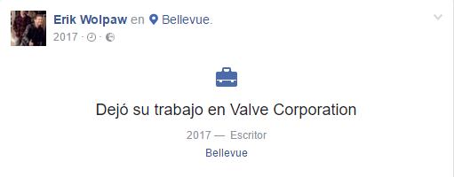 Erik Wolpaw, guionista de HL y Portal, abandona Valve