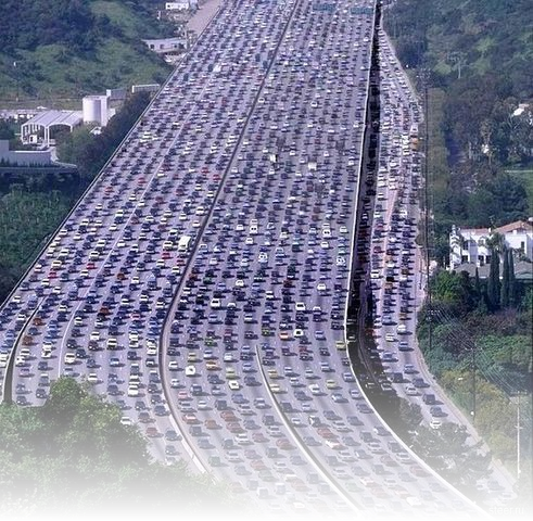 Getstunned china mother of all traffic jams for World s longest video