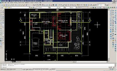menghitung luasan bangunan