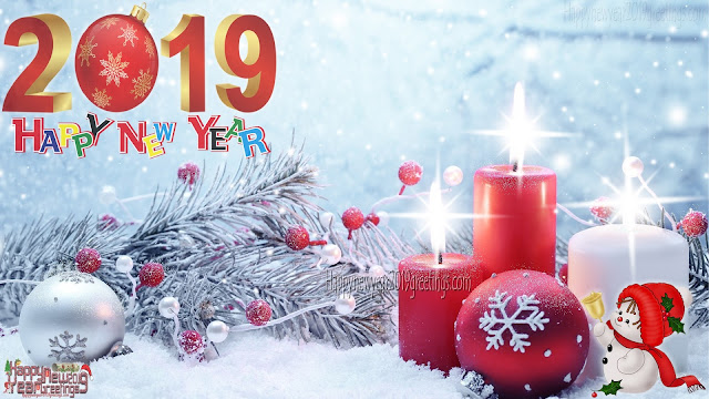 Happy New Year 2019 Greetings HD Wallpapers 1080p Download Free