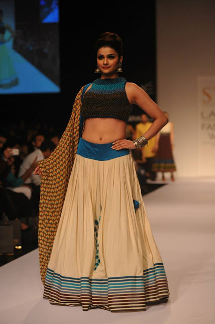 Prachi Desai at Lakme Fashion Show 2013