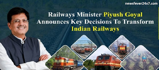 Major changes being made by Railway Minister