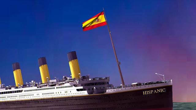 España se hunde. Pedro Sánchez. Hispanic