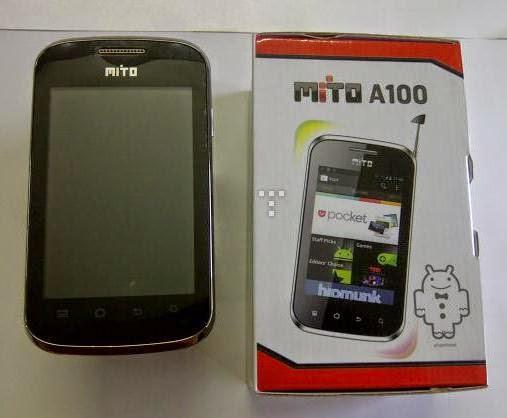 Harga dan Spesifikasi Hp Mito Android A100 November 2014