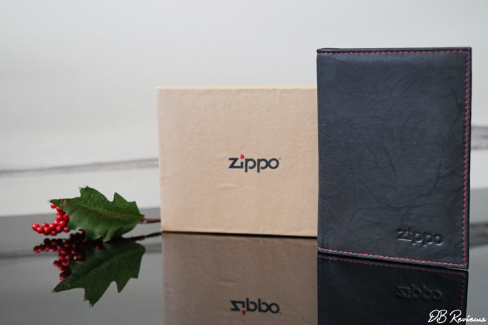 Zippo Leather Credit Card Wallet