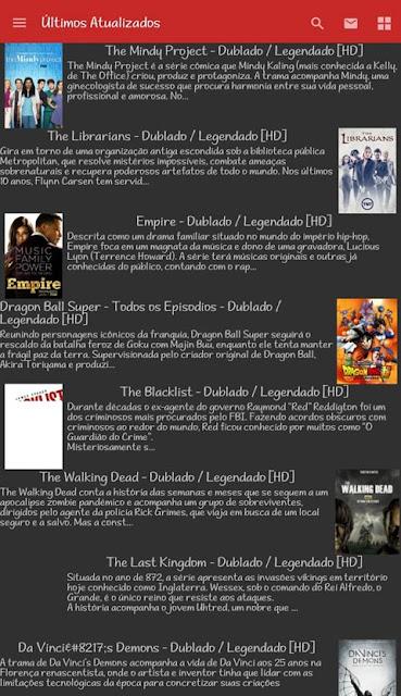 Series - Apk Full - Assista Várias Series no Android